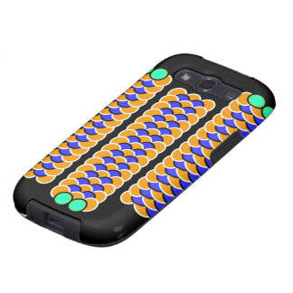 Moving Worms - Optical illusion Samsung Galaxy S3 Cover