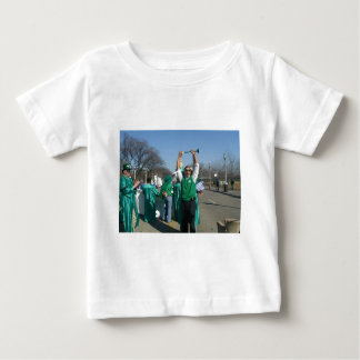 Mow-Bama (Obama) marches with the Lawn Rangers Baby T-Shirt