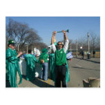 Mow-Bama (Obama) marches with the Lawn Rangers Post Card