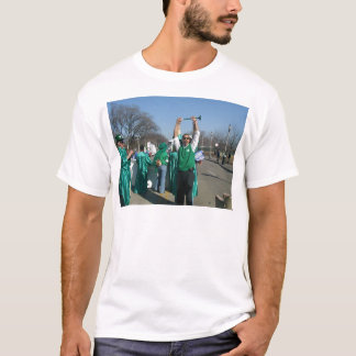 Mow-Bama (Obama) marches with the Lawn Rangers T-Shirt