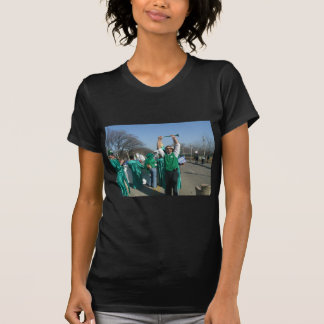 Mow-Bama (Obama) marches with the Lawn Rangers Tee Shirts