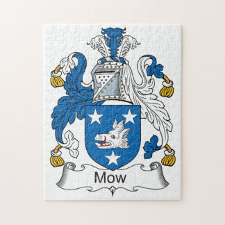 Mow Family Crest Puzzle