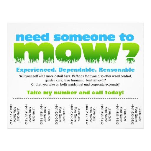 28 lawn care business flyers lawn care business flyer for Garden maintenance flyers