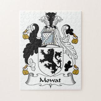 Mowat Family Crest Jigsaw Puzzle