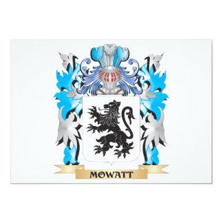 Mowatt Coat of Arms - Family Crest Card