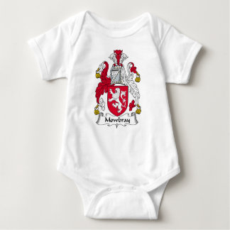 Mowbray Family Crest Baby Bodysuit