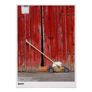 mower posters