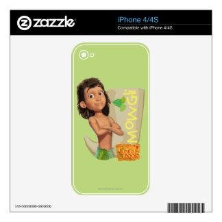 Mowgli 1 iPhone 4S decal