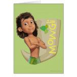 Mowgli 1 tarjeta de felicitación