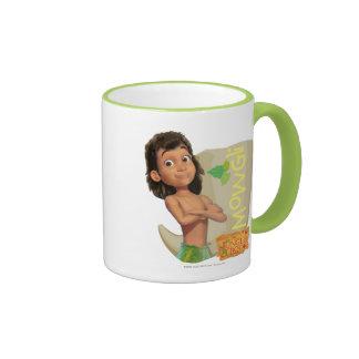 Mowgli 1 taza a dos colores
