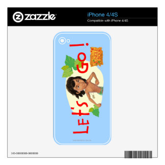 Mowgli 2 iPhone 4 decals