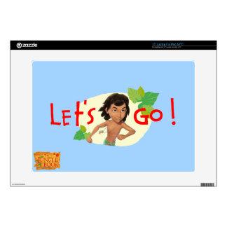 "Mowgli 2 decal for 15"" laptop"