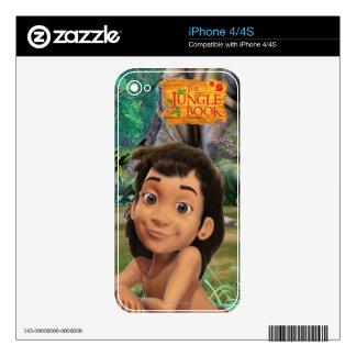 Mowgli 4 skin for iPhone 4