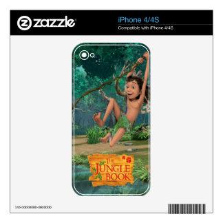 Mowgli 5 iPhone 4S skins