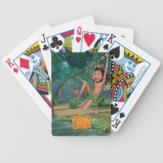 Mowgli 5 bicycle playing cards