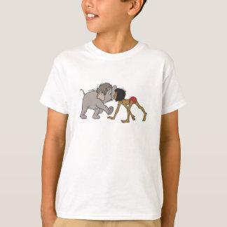 Mowgli del libro de la selva con el elefante camisas