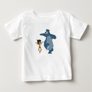 Mowgli y Baloo Disney del libro de la selva Polera