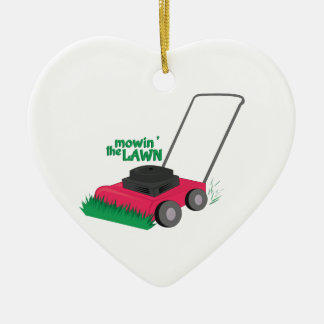 Mowin The Lawn Christmas Tree Ornament