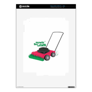 Mowin The Lawn iPad 2 Skins