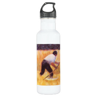 Mowing by Georges Seurat 24oz Water Bottle
