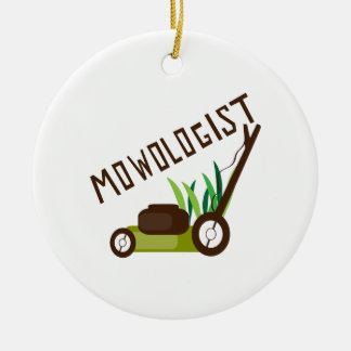 Mowologist Ceramic Ornament