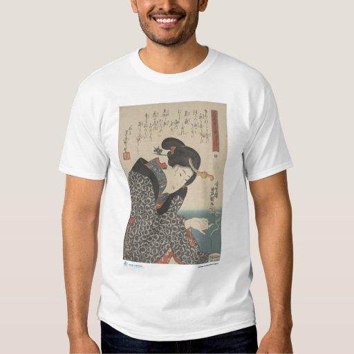 Moxibustion japonés - camiseta playeras