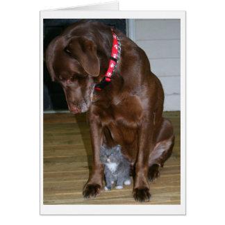 Moxie and Squeak Card