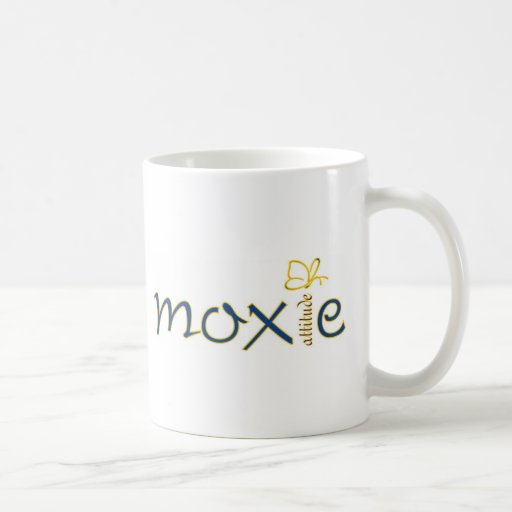 Moxie Attitude Classic White Coffee Mug