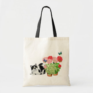 Moxie Cat and Butterflies Bag