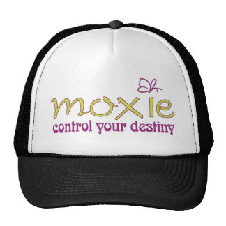 Moxie - control your destiny hats