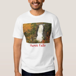 Moxie Falls in Autumn The Forks Maine T-shirt