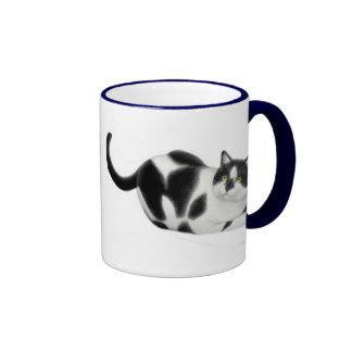 Moxie la taza del campanero del gato