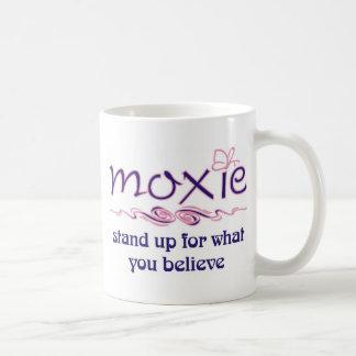Moxie - levántese y crea taza básica blanca