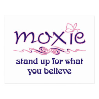 Moxie - Stand Up & Believe Postcard