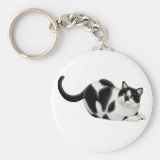 Moxie the Cat Keychain