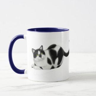 Moxie the Cat Ringer Mug