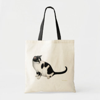 Moxie the Tuxedo Cat Bag