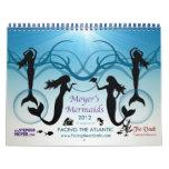 Moyer's Mermaids Calender 2012 Calendar