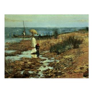 Moyes Bay, Beaumaris, Victoria Postcard