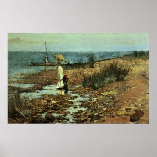 Moyes Bay, Beaumaris, Victoria Poster