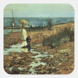 Moyes Bay, Beaumaris, Victoria Square Sticker