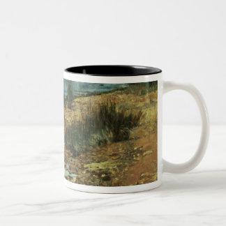 Moyes Bay, Beaumaris, Victoria Two-Tone Coffee Mug