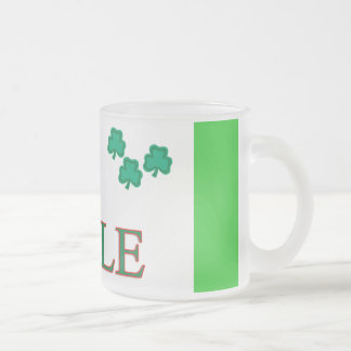 Moyle Family Frosted Glass Coffee Mug