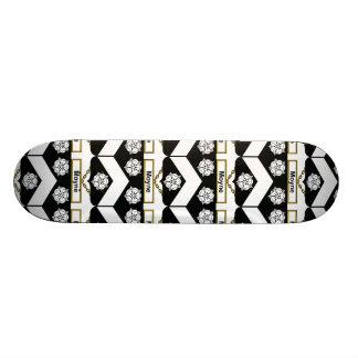 Moyne Family Crest Custom Skate Board