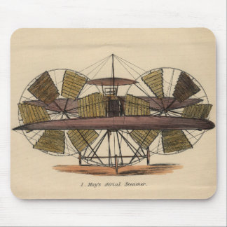 Moy's Aërial Steamer c. 1875 Mouse Pads