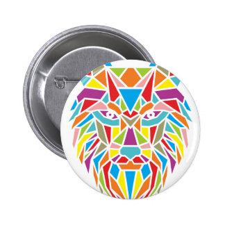 mozaic wolf button