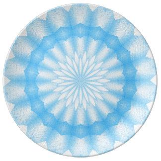 Mozaik Mandala (blue) Plate