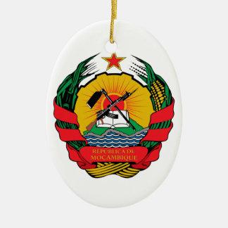 Mozambique Coat of Arms Ornament