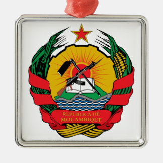Mozambique Coat of Arms Christmas Ornament