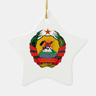 Mozambique Coat of Arms Ornaments